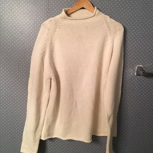 Banana Republic Women Mock Turtleneck Sweater Warm